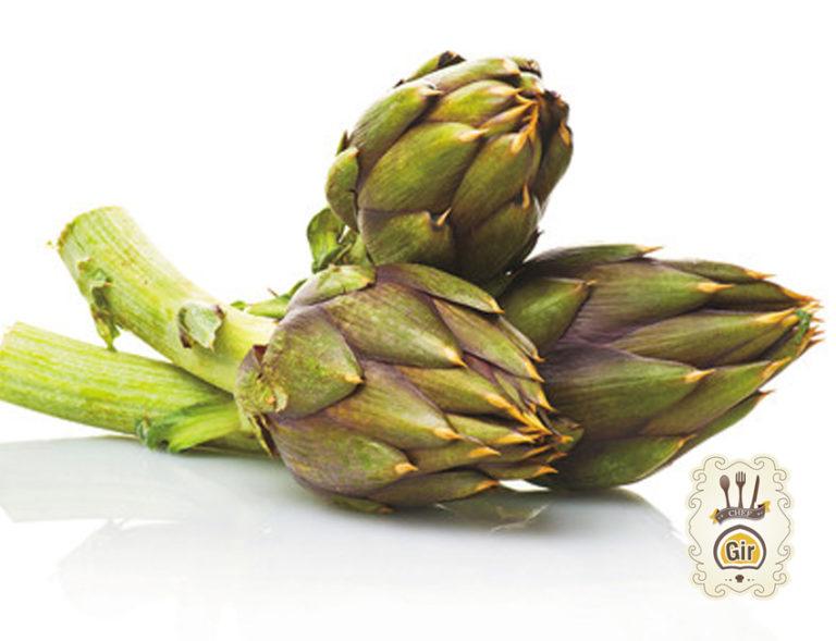Carciofi con olive e capperi